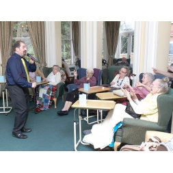Maesbrook Care/Nursing Home with Elderly Residents in Shrewsbury, Shropshire